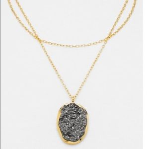 "BaubleBar ""Asteroid"" Layered Pendant Necklace"